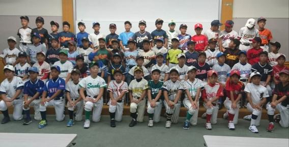 2018/09/11 東京新聞杯東京都学童軟式少年野球大会 新人戦の抽選会が行われました。